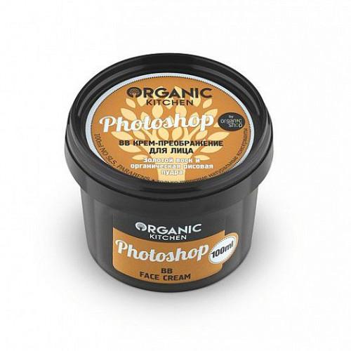 Крем BB преображение для лица  PHOTOSHOP  серия Organic Kitchen  100ml Organic Shop
